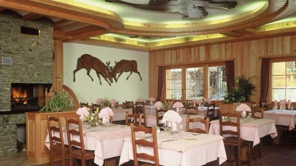Restaurant de moiry grimentz for Restaurant salle a manger