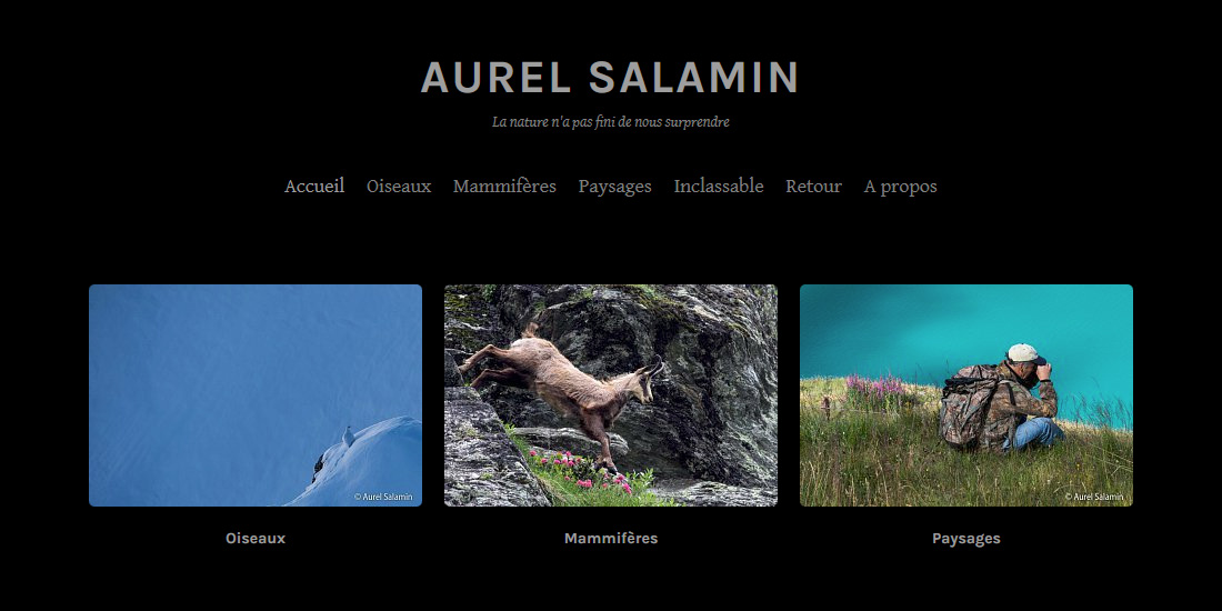 Photogalérie Aurel Salamin La Faune de Moiry