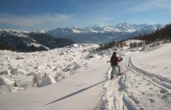 Ski et hôtel à Grimentz