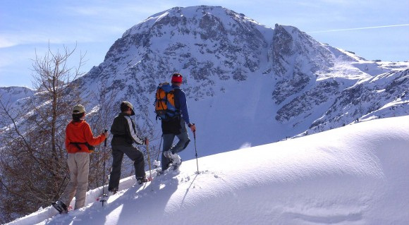 Schneeschuhwandern Grimentz, Wallis