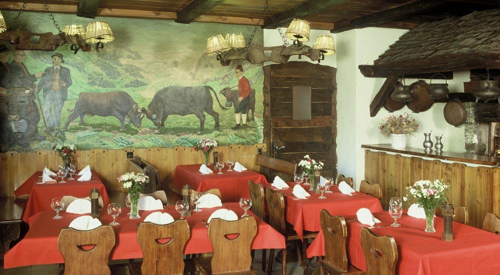 Restaurant - Hôtel de Moiry Grimentz