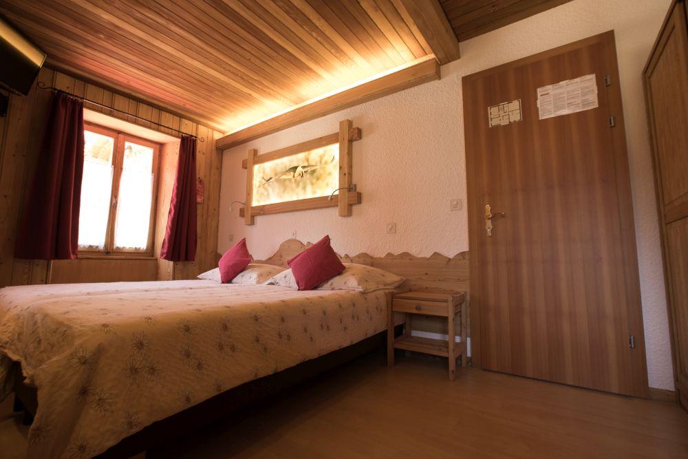 Hotel de Moiry Grimentz - Zimmer