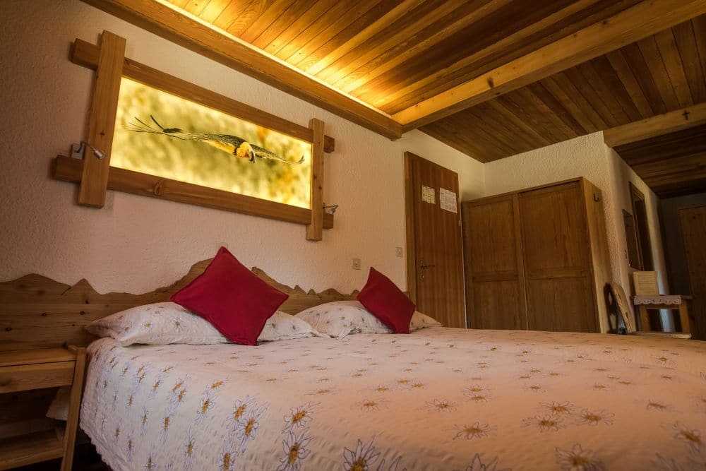 Hotel de Moiry Grimentz - The Rooms